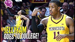 JELLY FAM vs BIG TEN! Isaiah Washington Full College Game Highlights, Pregame Routine at Minnesota!