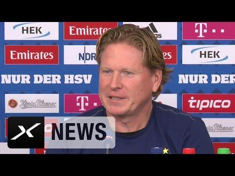 Markus Gisdol über Bayern, Arjen Robben und Elfer-Rangliste   Hamburger SV - FC Bayern München