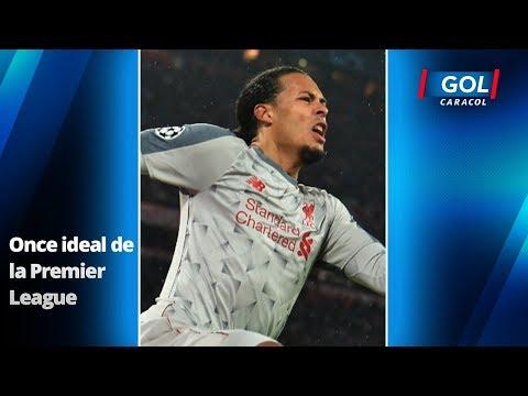 El Once Ideal De La Premier League Según Su Promedio Estadístico | Gol Caracol