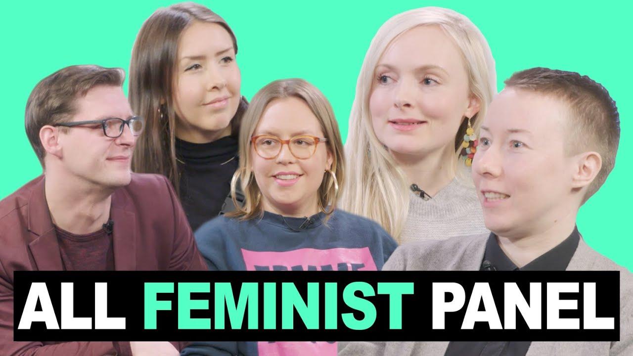 """Download """"Feministit vihaavat miehiä."""" – KIOSKI ALL FEMINIST PANEL"""