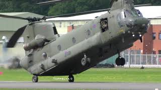 Skilled Helicopter pilot Chinook CH-47