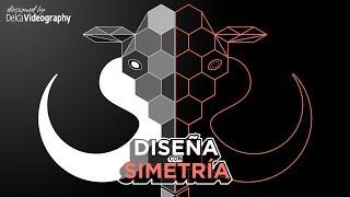 DISEÑA con SIMETRÍA en 3 SIMPLES PASOS con Corel DRAW DelcaVideography