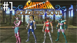 Let's Play Saint Seiya Soldiers' Soul | #1 - Les Chevaliers de Bronze !