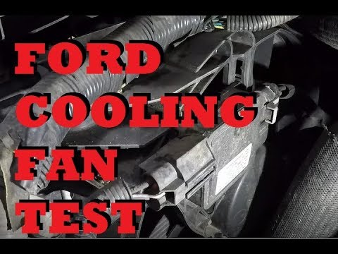 ford cooling fan test