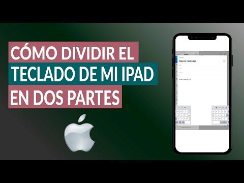 Cómo Dividir el Teclado de mi iPad en dos Partes Fácilmente
