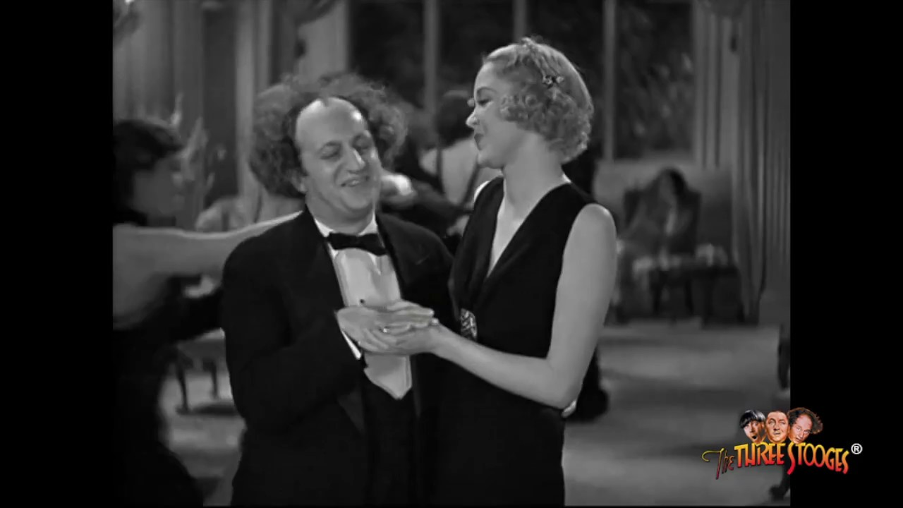 the three stooges larry fine supercut youtube