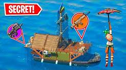 Secret Loot Boat ONLY Challenge In Fortnite Season 3