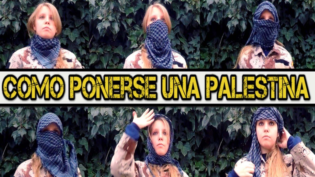 Como Ponerse Una Palestina Shemagh 6 Formas De Ponerse Un Pañuelo Youtube