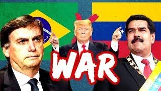 Quem Vence A Guerra: Brasil Ou Venezuela?