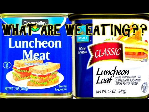Dollar General SPAM Vs. Dollar Tree TREET  - WHAT ARE WE EATING?? - The Wolfe Pit