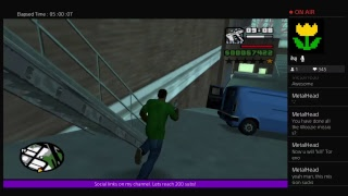 Let's play Grand Theft Auto: San Andreas (part 2)