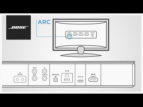 Bose Soundbar Systems - Using HDMI™ ARC