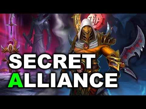 SECRET vs ALLIANCE - Kiev Major EU Quals DOTA 2