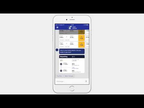 Conversational Interfaces for Travel Booking