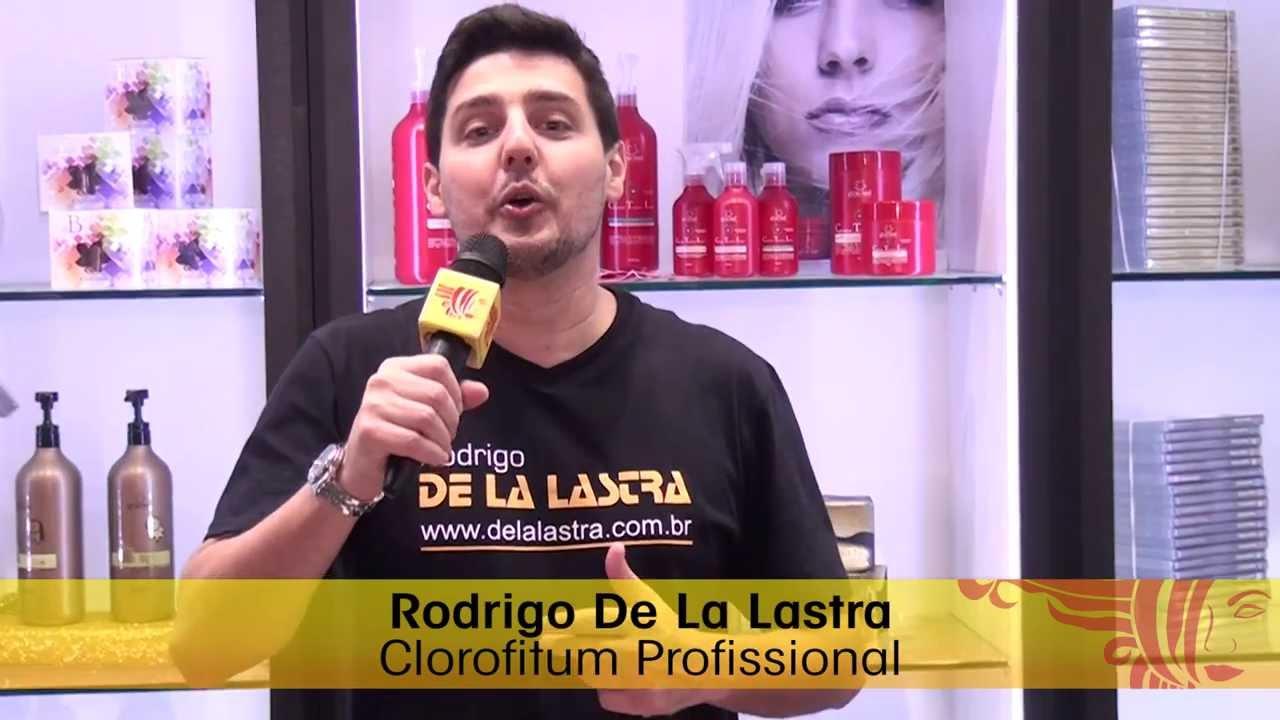 Rodrigo De La Lastra apresentou workshops no estande da Clorofitum durante a Beauty Fair 2013