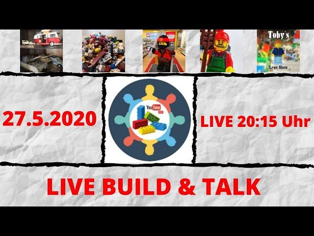Wir haben Grund zum Feiern! - Live Build & Talk #BuildingBricksforHappiness