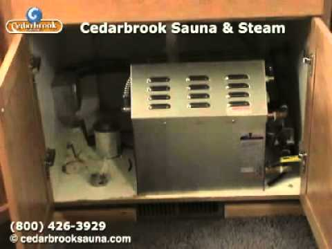 09 Build a Steamroom: Quick look at the steam generator - YouTube