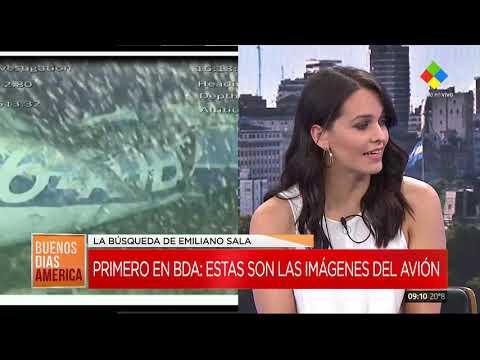 Las primeras imágenes y el lugar exacto donde fue hallado el avión de Emiliano Sala