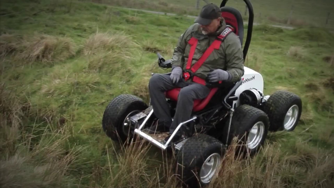 check out the hexhog 6 wheel all terrain personal transport vehicle youtube. Black Bedroom Furniture Sets. Home Design Ideas