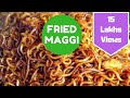 Fried Maggi Recipe | Fried Ramen | Street Style | Telugu and English Subtitles