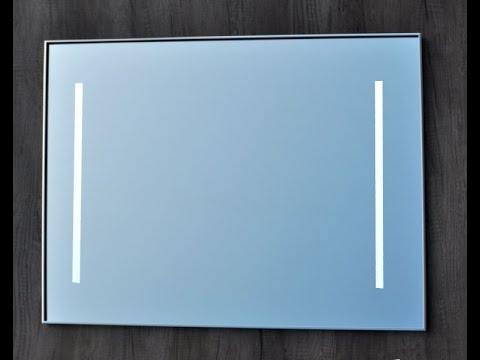 Badkamer Lamp Spiegel : Sanicare collectie spiegels youtube
