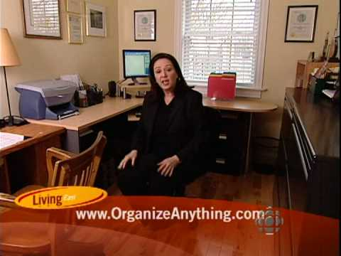 how to organize a small home office youtube. Black Bedroom Furniture Sets. Home Design Ideas