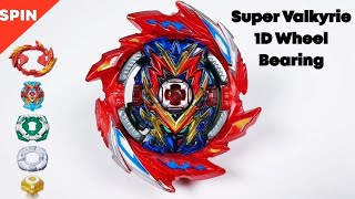 Beyblade Burst Sparking Custom 【Super Valkyrie 1D Wheel Bearing】 베이블레이드 버스트 슈퍼킹 슈퍼 발키리 ベイブレードバーストガチ