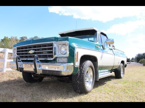 1980 chevy truck options