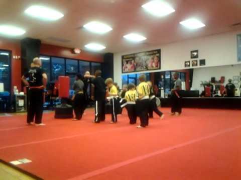 Kids Jeet Kun Do class at Superior Academy