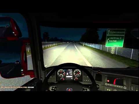 Euro Truck Simulator 2 Multiplayer | Scandinavia DLC  | Stockholm | Jönköping |