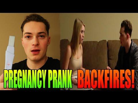 PREGNANCY PRANK BACKFIRES