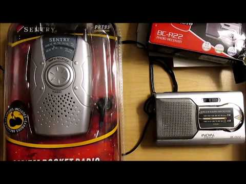 Cheapo Radio Review: Indin BC-R22 & Sentry PR799