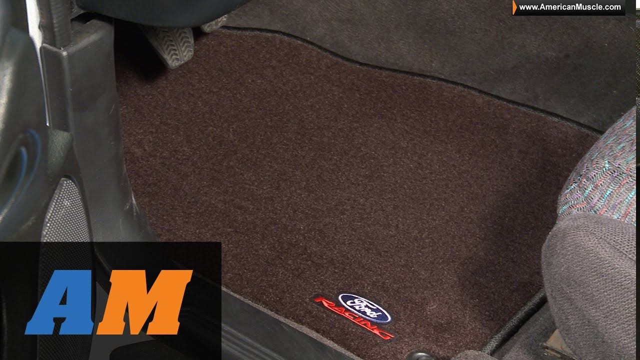 Mustang Ford Racing Black Floor Mats 94 04 All Review