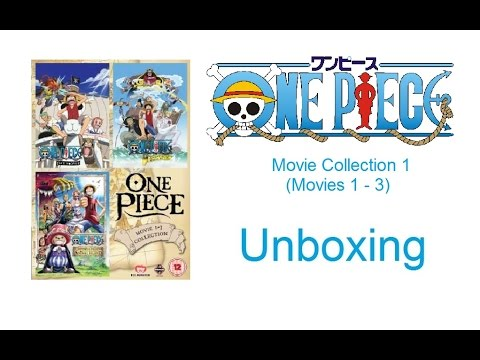Unboxing: One Piece - Movie Collection 1 (DVD) [HD]