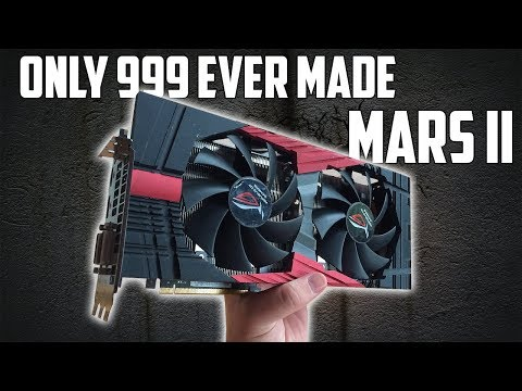 Rare Old Hardware | The Asus Mars II Graphics Card