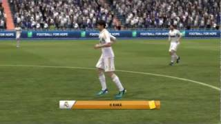 FIFA 12 | Gameplay | Liga 1 | Real Madrid - Manchester City | FIFAtazztics