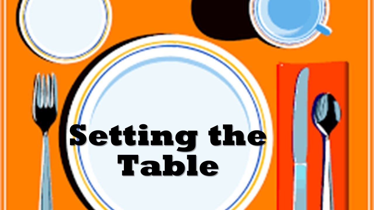 Setting The Table Series