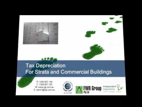 Tax Depreciation Presentation For Custom Care Body Corporate Services
