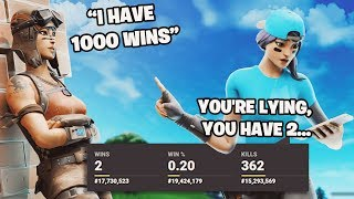 I EXPOSED My Random duos stats in Fortnite...