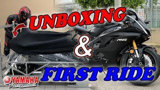 YAMAHA R6 2019🔥| UNBOXING & FIRST RIDE!🚀 | RayBikelife