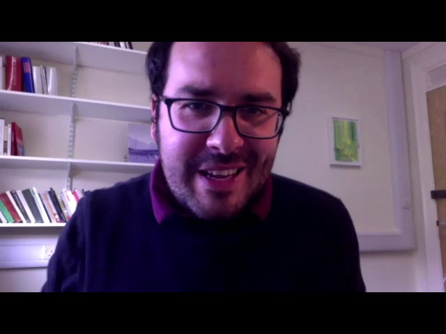 Tusk Virtual 2020 - Basil Bunting at Morden Towers