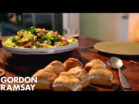 Ploughman's Lunch with Beer Soaked Bread   Gordon Ramsay