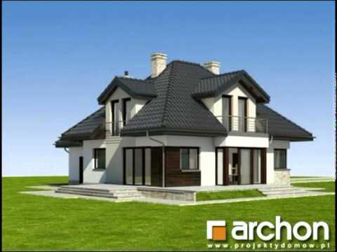 Dom W Czarnuszce 2 Archon Projekty Domów Wwwarchonpl