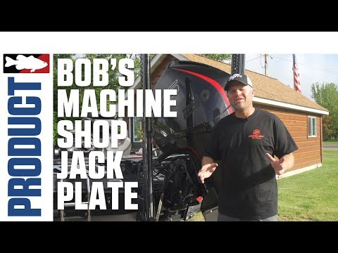 Bob's Machine Shop Action Series Hydraulic Jack Plate Product Video With Luke Clausen
