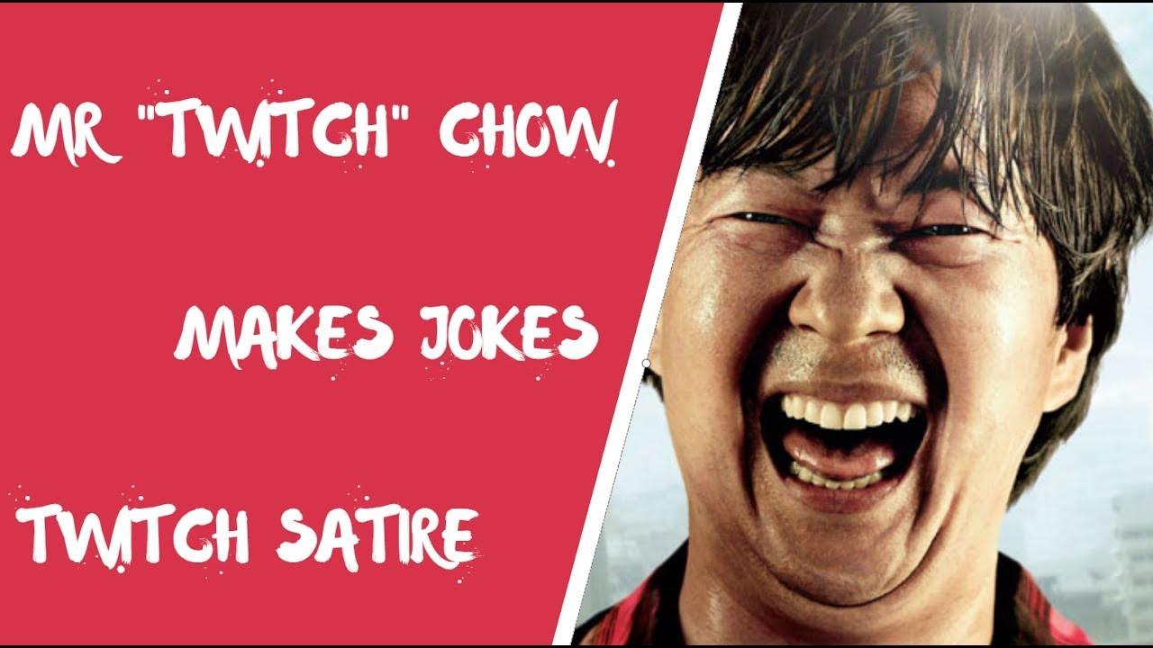 Mr Twitch Cho Tells Late Night Jokes Satire Youtube