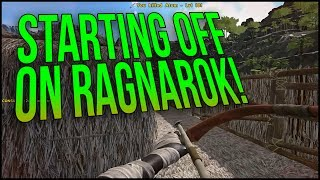 STARTING OFF ON RAGNAROK! | ARK Ragnarok Official PvP - Ep.1