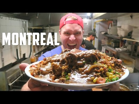 Furious World Tour | Montreal, Canada - 8,000 Calorie Poutine, World's Hottest Wings & Maple Syrup