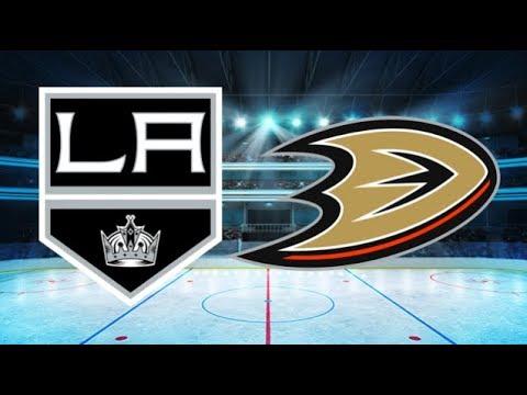 Los Angeles Kings vs Anaheim Ducks (1-2 OT) – Mar. 30, 2018 | Game Highlights | NHL 2018