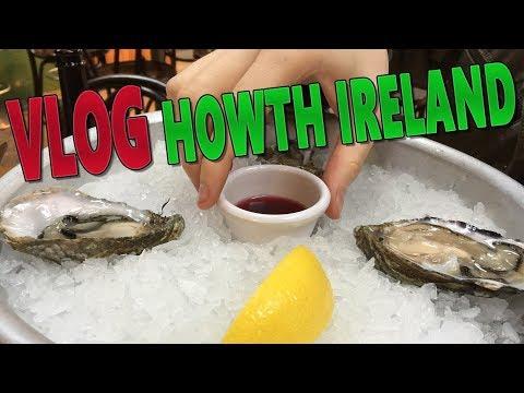 VLOG: Howth Market & Seafood (OYSTER TASTE TEST) Travelling Around Ireland