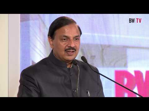 Dr. Mahesh Sharma,Minister of State for Culture and Tourism at BW Hotelier Magazine Launch